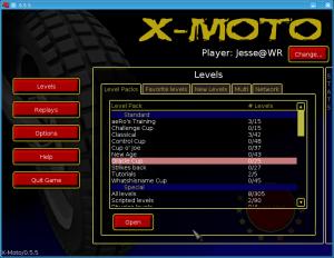 x-moto-menu