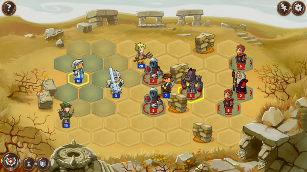 Blowing up Bits » Braveland and turn-based combat